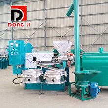 6yl100 screw oil press cold and hot dual-purpose automatic commercial medium-sized oil mill oil processing equipment