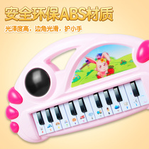 Childrens electronic organ music toys baby early teach piano 0-1-3 year old baby puzzle boy Girl 2 Gifts