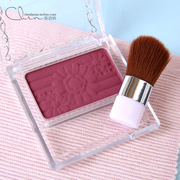 The Japanese authentic CANMAKE monochrome blush PW38 raspberry petals cream Rouge lasting waterproof cover