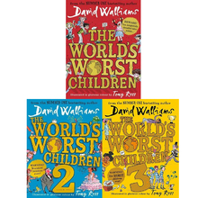 The World's Worst Children David's Juvenile Humorous Novels in Spot English