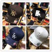 0bf7caeddc1 Korea MLB Special Counter purchase authentic 18 new Star embroidery baseball  cap cap male and female