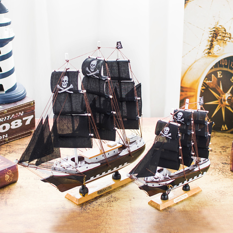 Audi Jashi Sailing Model Decoration Gift for Sailing Model Pirate Ship Model Crafts