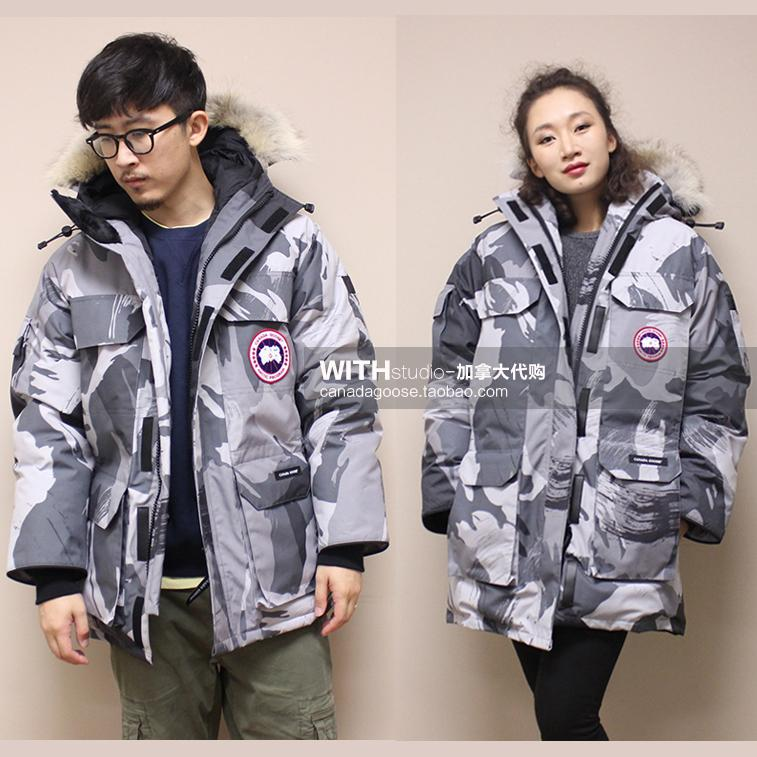 Canada direct mail Canada Goose Canada Goose EXPEDITION female models Antarctic adventure down jacket