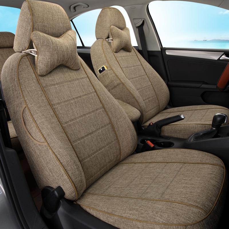Wuling Hongguangs seat set 7 seat glory v cushion four seasons general linen all-inclusive Baojun 730 Ono car seat cover