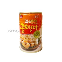 South Korea imported Dongyuan conch canned 400g South Korea conch canned seafood snail meat 384