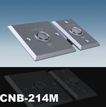 CUMU Brand Metal New Silver 86 Open Access Control Switch Button Packing 86 Silver Aluminum Alloy