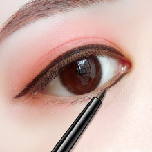 Brown eyeliner pencil, waterproof, non staining, durable anti sweat, non coloring cream, beginner net red inner liner pencil.