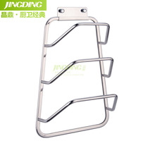 Crystal Ding 304 stainless steel lid rack Solid belt water tray hanger wall hanging kitchen pendant area 20530