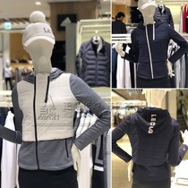 French Rooster Korean purchase 18 autumn lady hooded long sleeve warm hundred golf cotton clothes g8422lcs31