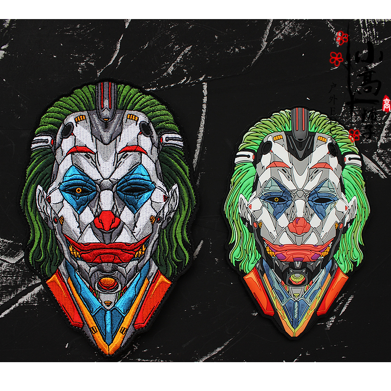 German Tappsgear tactical clown Joker embroidered night light limited edition magic sticker morale badge badge