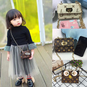 Baby girls Satchel Bag bag bag accessories box mini presbyopic princess love bird shoulder chain bag