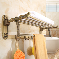Empress Family European idyllic style antique bath towel rack retro towel rack GY229