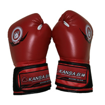 Boxing gloves adult male and female Sanda Bo hits sandbag boxing gloves Muay Thai Fighting Training Gloves