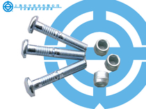 Anchor Brand core rivets: Ring Groove Type (also known as Huck Nail)-Quantie-round head