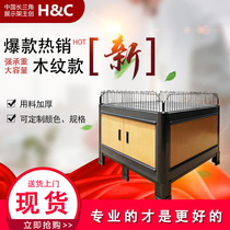 H&C Genuine supermarket Promotion Desk special Display mall shelf promotion flat heap head custom color specifications