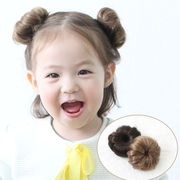Lovely children meatball Wig Child Korean pop princess headdress hairpin female baby hair on a bag mail