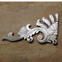 Cast Aluminum Accessories aluminum door flower Villa door top flower courtyard door Accessories Door Accessories