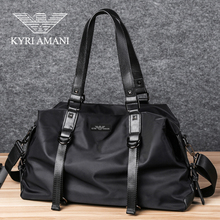 Weifang Armani travel bag men's business trip handbag large capacity short distance travel business Single Shoulder Messenger Bag man
