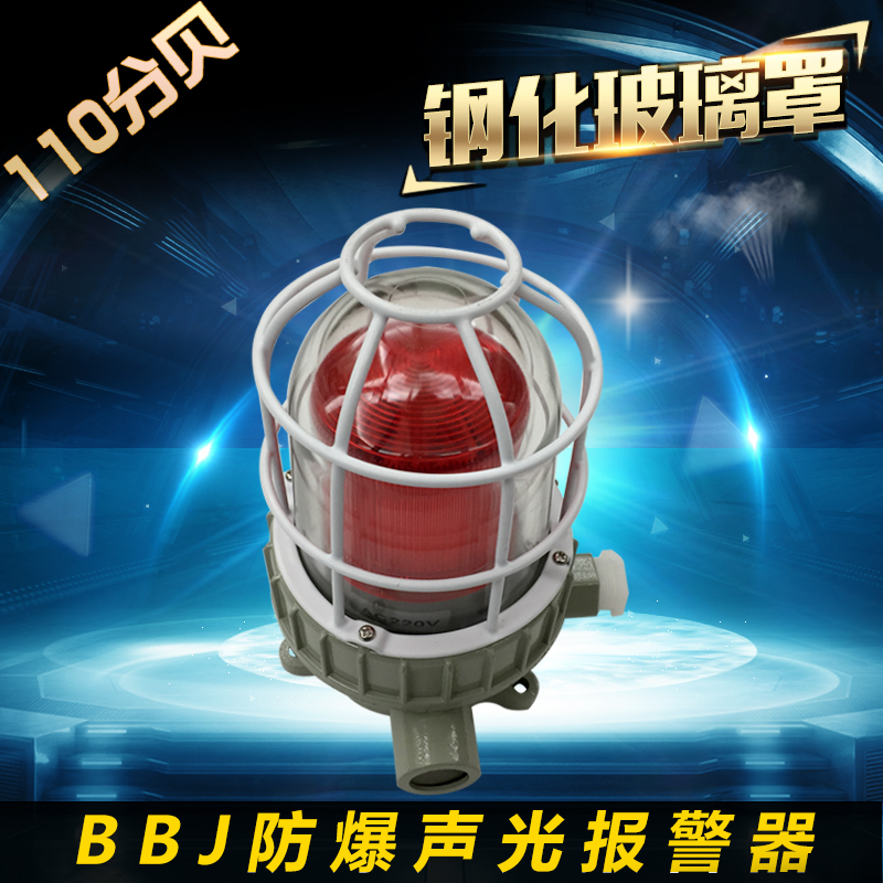 Explosion-proof acoustooptic alarm BBJ 220V 24V 110 dB LED warning lamp