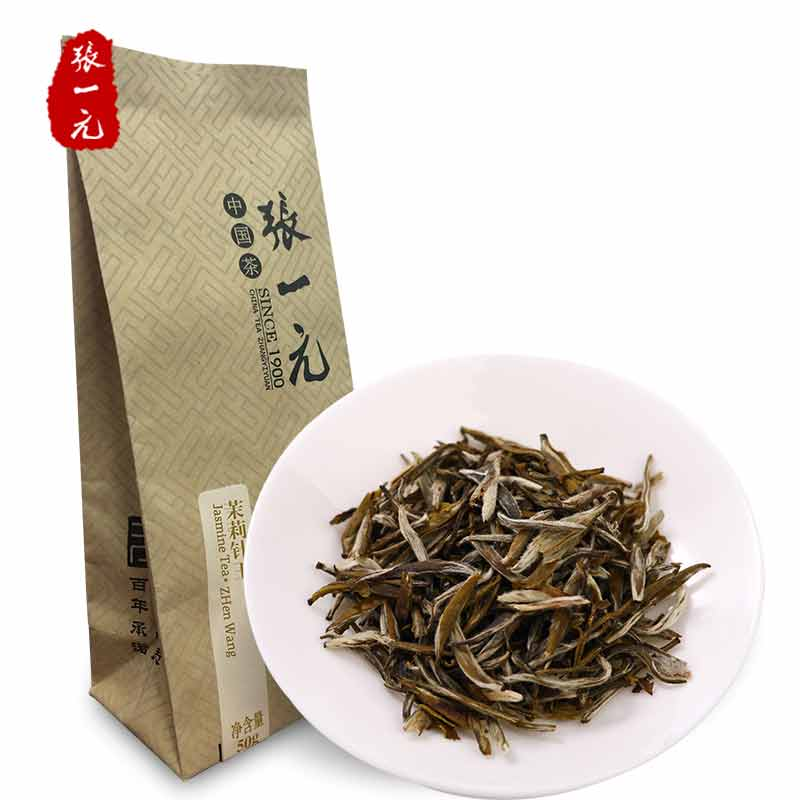 Zhang Yiyuan Jasmine Tea Camellia Tea Jasmine Needle Needle Flower Tea 50g