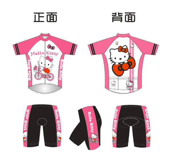 Summer Children's Cycling Wear Balanced Suit Short Sleeve Suit Fast-drying Sports T-shirt, Racing Wheel Skating Suit Customization
