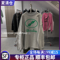 Guojin well we11done 20ss new Zhao Lu Si with the same loose long-sleeved t-shirt sweater
