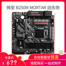 MSI MICROSTAR B250M MORTAR mortar BAZOOKA OPT BOOST proudly eats chicken computer motherboard