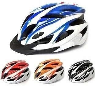 Mountain bike one-piece helmet bicycle helmet cycling helmet with hat can be posted any sign
