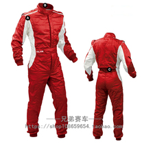 Bright face F1 conjoined racing suit car drift training suit male and female Red Bull custom children Cardinals Clothing