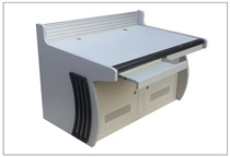 Double-linked operating table aluminum alloy backplane can be connected bracket external display Two-connection monitor console
