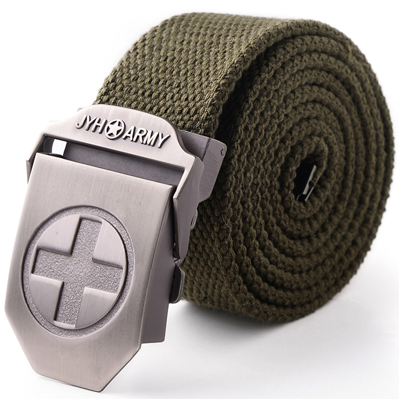 Military Outdoor Leisure Canvas Belt