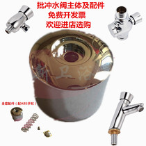 Special batch hand-operated flush valve accessories toilet urinal large pool flush valve bathroom delay button spring