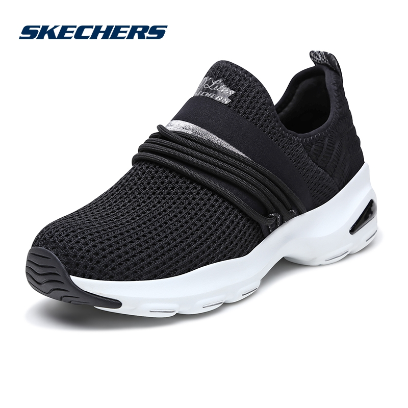 Skechers/SKECHERS women's shoes new D'lites mesh fashion platform shoes lazy casual shoes 12864