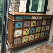 Американский шкаф ботинка балкон шкаф ботинка твердой древесины покрашенный шкаф ведра входная дверь шкаф большой емкости разнослоистый шкаф входная дверь шкафа против стены