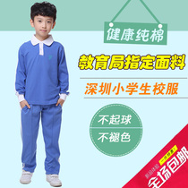 Spring and autumn sports suit for pupils