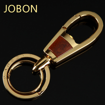 Bang high-grade metal stainless steel car keychain men's waist hanging women couple keychain creative personality