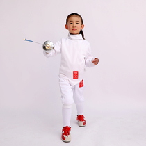 Childrens adult fencing clothing set of three pieces (CE 350N) National Fencing Association designated brand
