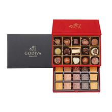 GODIVA歌帝梵巧克力优选礼盒(30颗装)(红色包装)