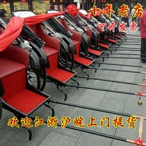 Ant flower to rent a rickshaw old Shanghai vintage Rickshaw wedding Republic of China rickshaw door pickup