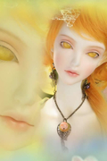 BJD SD Topaz-Honey Dew doll doll virgin sister soom