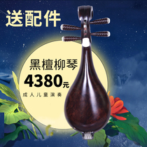 Manufacturer Promotion Troupe band playing Ebony wood Liuqin instrument gift accessories String box bracket van Nest