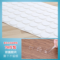 2 Waterproof glue strong transparent double-sided adhesive non-trace film affixed wall jewelry photo Frame mirror Adhesive Solid Adhesive