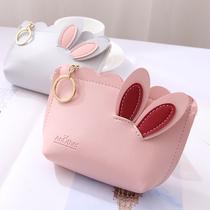 Девичья сумка красный ins маленький кошелек короткий портмоне корейская версия студент простой милый chic ниша дизайнер