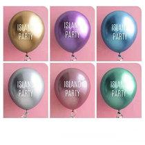 Металлический воздушный шар пользовательский печатный логотип чтобы сделать воздушный шар толчок день рождения чтобы открыть творческий diy рекламный воздушный шар украшения