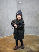 (CAT) in autumn and winter streets of new boys and girls tide fan pleated DrawString profile cotton jacket