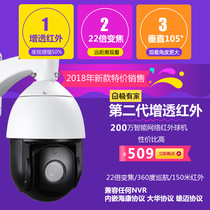 H.265 2 million high speed network monitoring ball machine 360 degree outdoor infrared Zoom Ball Camera