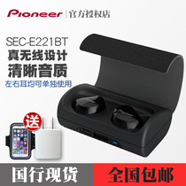 Pioneer Pioneer SEC-E221BT Mini ear plug double ear male and female wireless Bluetooth motion headset
