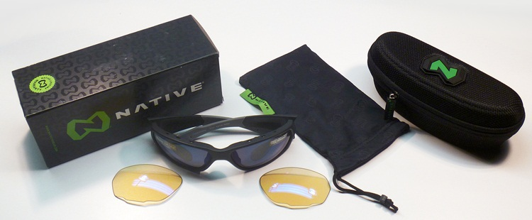 Spot Polarized Sunglasses Native Endo Polarized with Replaceable Lenses