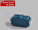 Pheenet Fenit LC Duplex Single Duo Double High Fiber Flange Coupled Adapter
