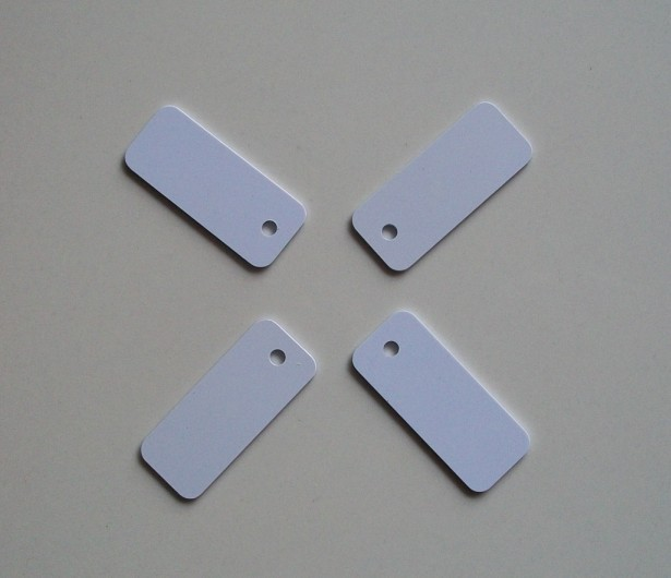 Tag RFID 125Khz PVC material ID Tag Jewelry Mini 45x18MM